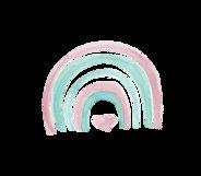 Rainbow Illustration Boho Clip Art Product Image 4