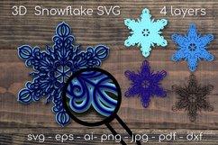 Big Christmas Bundle SVG. Snowflake, Santa, Christmas mask Product Image 2