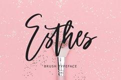 Esthes Brush Script Typeface Product Image 1