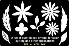 A set of plant-baced layouts Product Image 2