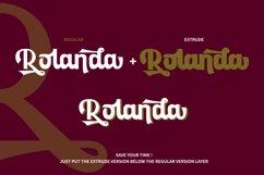 Rolanda - Strong Bold Script // Web Font Product Image 6