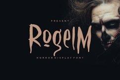 Web Font Rogelm Font Product Image 1
