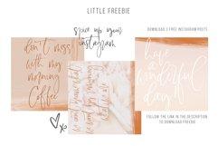 Lasiera Script Font | Blog style Product Image 6