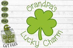 Grandpa's Lucky Charm - St Patrick's Day SVG File Product Image 2