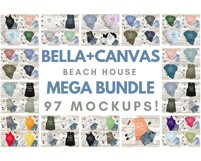 Ultimate TShirt Mockup Bundle Bella Canvas Gildan Next Level Product Image 5