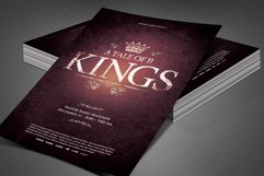 A Tale of Two Kings Church Flyer Product Image 3