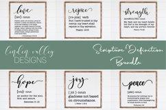 Scripture Definition Bundle Bible Verse SVG Bundle Farmhouse Product Image 1