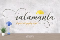 Salamanta script Product Image 1