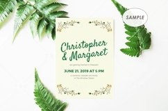 "5"" x 7"" Card Mockup / Invitation Card / Save the date Card Product Image 2"