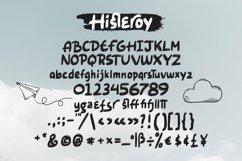 Web Font Histeroy - Custom Sketch Font Product Image 3