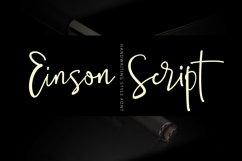 Einson Script Font Product Image 1
