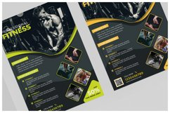 Fitness Flyer Templates Product Image 3