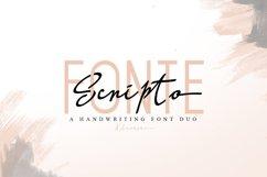 Scripto Fonte Font Duo Product Image 1