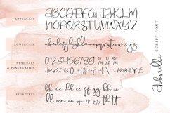 Aubrielle Script Font Product Image 4