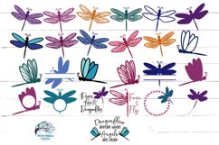 Dragonfly SVG Bundle | 25 Dragonfly SVGs Product Image 2