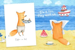 Animals. Cutest Watercolors Product Image 2
