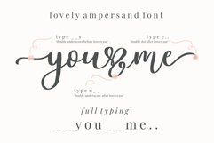 Lovely Ampersand Product Image 2