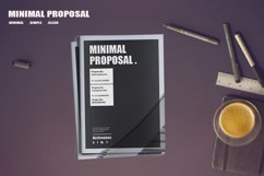 Minimal Proposal Template Product Image 1