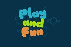 Fun Blob - Funny Kids Font Product Image 11