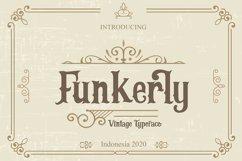 Funkerly Vintage Typeface Serif Font Product Image 1