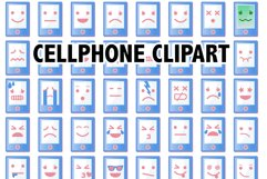 PHONE CLIPART Product Image 1