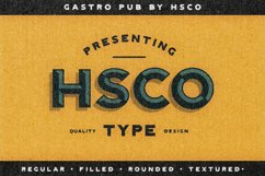 Gastro Pub - Type Family - Font Family Product Image 6