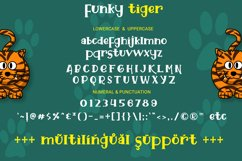 Funky Tiger - Playful Display Font Product Image 6