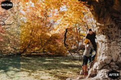 Pumpkin Photoshop Actions And ACR Presets, Fall preset Product Image 2
