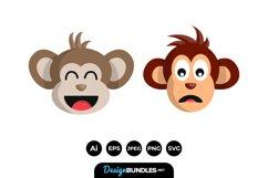 Monkey Faces Product Image 1