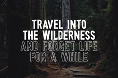 Wonderful Wilderness Font Duo Product Image 2