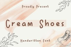 Cream Shoes Product Image 1