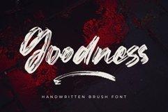Goodness - Handwritten Brush Font Product Image 1