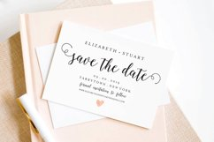 save the Date Template, Printable Save the Date Postcard Product Image 2