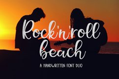 Rock N Roll Beach Font Duo Product Image 1