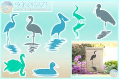Birds In Water Silhouette Bundle Svg Dxf Eps Png PDF Product Image 1