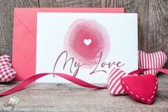 Sublimation heart watercolor elements. Product Image 4