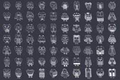 Fun & Cute Hand Drawn Vector Pack +Patterns Product Image 4