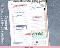 Digital planner piñata stickers Goodnotes and precropped png Product Image 2