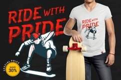 Skate Matter - Brush Texture Typeface Product Image 2