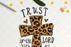 Trust in the Lord with all your heart, Sublimation PNG Product Image 2