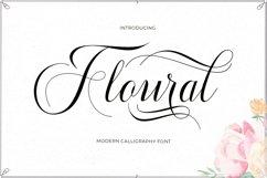 Floural Script Product Image 1