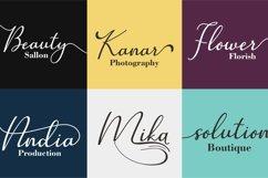 Web Font Camella Product Image 4