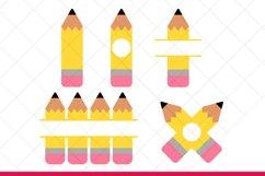 Pencil SVG Files for Cricut and Silhouette Pencil SVG Bundle Product Image 3