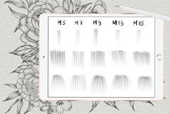 Shadow tattoo needles brushes for Procreate Product Image 2