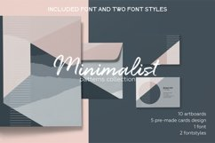 Minimalist pattern collection. Font included. Product Image 1