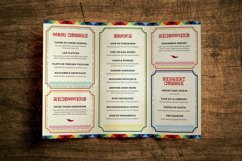 Mexican Food Menu Template Product Image 3