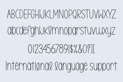 Web Font Milk cream - a handwritten font Product Image 3