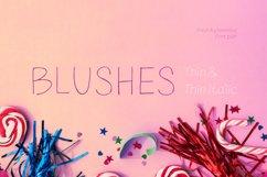 Blushes — Thin & Thin Italic Product Image 1