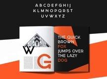 Georgina - A Stencil Hybrid font Product Image 4