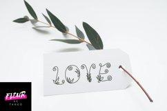 Flores mono - beautiful monogram floral font Product Image 2